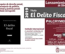 """Invitación al lanzamiento del libro """"El delito fiscal"""""""