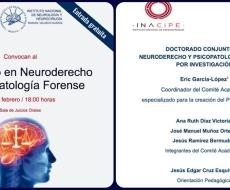 Doctorado en Neuroderecho y Psicopatología Forense