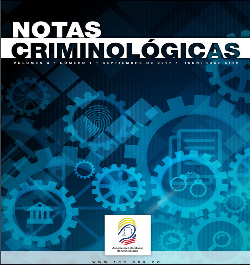 Notas Criminológicas